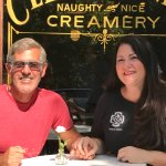 Bill Donius with Clementine's founder Tamara Keefe