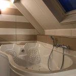Badezimmer VIP-Ferienhaus + Eingang+ Restaurantbereich