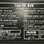 Yum-ee bun (hot-glazed donut ice cream sandwich)