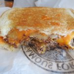 An all time favorite - the Frisco Melt!