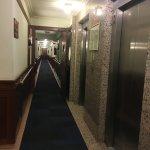 titanic themed hallways