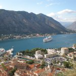City walls of Kotor - the view!