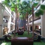 hotel lobby / chill area