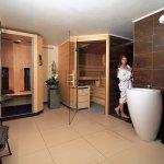 Sauna und infrarot Kabine