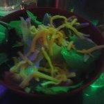 good-sized side salad