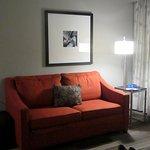 Couch, Hampton Inn Convention Center, New Orleans, LA