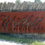 Entrance to distillery