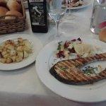 salmone e patate arrosto