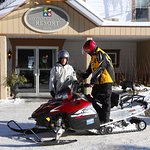 Welcome to our snowmobile guests!