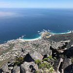 From the top! Camps Bay and Clifton Beach