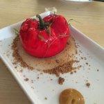 Falso tomate de mascarpone