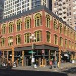 Building around Pioneer Square