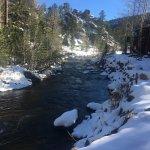 Boulder Brook on Fall River Photo