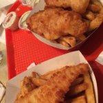 Fish and Chips at Fulton's