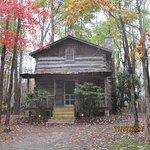 Inn and tobacco barns cabins.