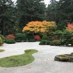 Flat Garden has a raked gravel landscape.