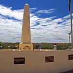 the monument at ANZAC Hill