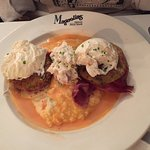 Lowcountry Benedict from Magnolias