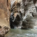 The Narrows. The river is your trail.