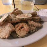 Fried pickles didn't disappoint. Perfectly cooked
