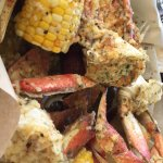 Great seafood in baskets.  Had the huge crabs with lots of meat done perfectly. They also have c