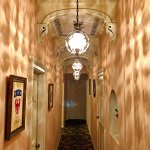 "Hallway to Room 206, where the ""alleged"" ghost of a Confederate Soldier roams."