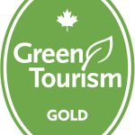 Certified Gold by Green Tourism Canada for 2017-19