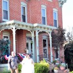 Just Married at the Mansion