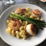 Shrimp, Scallop mac and cheese