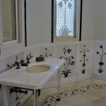 Lovely marble designs, inspired by visit to India