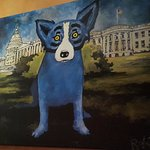 Blue Dog at the White House