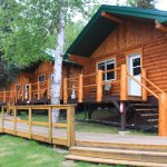 Wonderful new cabins