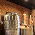 The Denny Bar Co. copper stills