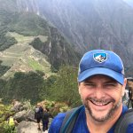 View of Machu Picchu from the top of Wayna Picchu