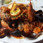 Seafood stew, excellent!