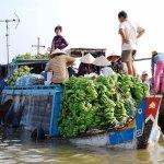 Floating Market - Mekong Delta - Vietnam