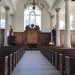 Inside the Christopher Wren designed church in Fulton, Missouri