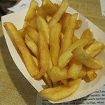 fries, extra crispy!
