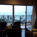 客廳露臺有寬闊海景視野