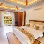 Bedroom of Premium Penthouse 2-bedroom apartment