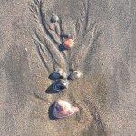 Natural Beach art, Jaco beach