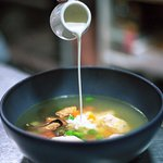 Nordic Soup with Ginger Cream