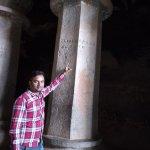 Ancient Writing on pillars