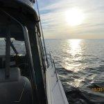 sun rise on the bay
