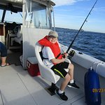 grandkids love fishing on the bay