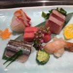 Sashimi plates at Sushi Iwa