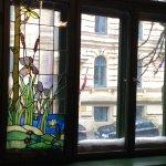 Window at Art Nouveau Museum