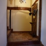 Escaleras hacia las suites