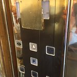 The Hotel's elevator. Bad maintenance all over