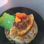 coquille de St Jacques foie gras